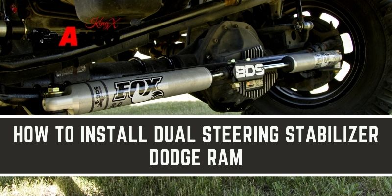 How to install Dual Steering Stabilizer Dodge Ram
