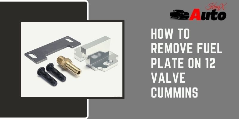 How To Remove Fuel Plate on 12 Valve Cummins